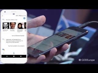 Google Assistant live translation