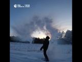 Снежные ореолы в Омске