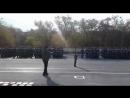 Димашым Талгат Бигелдинов атындагы Жас ұлан дардын ант кабылдауына ән орындап келди