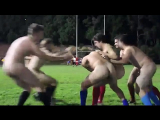 Naked Rugby in university