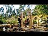 Выживание. Апокалипсис Дом в лесу своими руками ч. 3