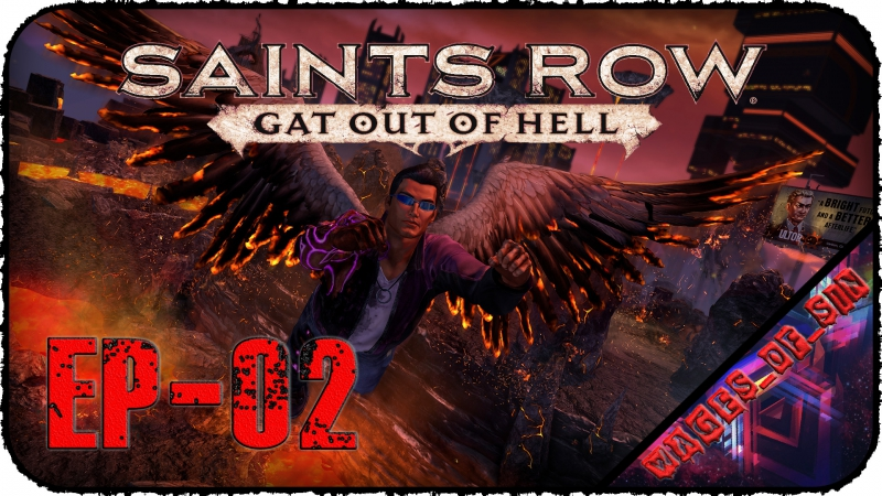 Saints Row: Gat out of Hell [EP-02] - Стрим - Спасти босса даже из ада