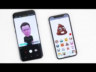Яблочный Маньяк Samsung Galaxy S9 AR Emoji VS iPhone X Animoji – НЕ ОЖИДАЛ!