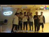 [RUS.SUB][22.11.17] Финальная репетиция красной команды (команды #Донхёна)