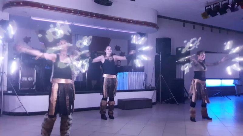 Световое пиксель шоу Амазонки Шоу проект Самум г Нижневартовск Мегион Стрежевой Радужный Сургут