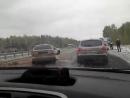 ДТП на трассе М5 под Челябинском, просыпали яблоки