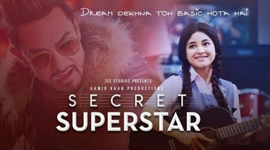 Secret Superstar Movies