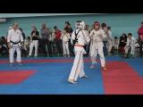 Костя Пархачев 1 бой Белый шлем