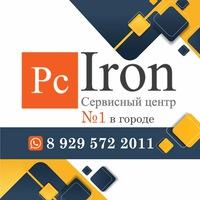 Логотип Ремонт телефонов ноутбуков Сергиев Посад /PcIron