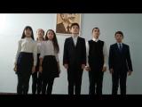 Ә. Вәлиди ис. 2-се Башҡорт-гимназия интернатының 7 б класы уҡыусылары ла флешмобҡа ҡушыла!