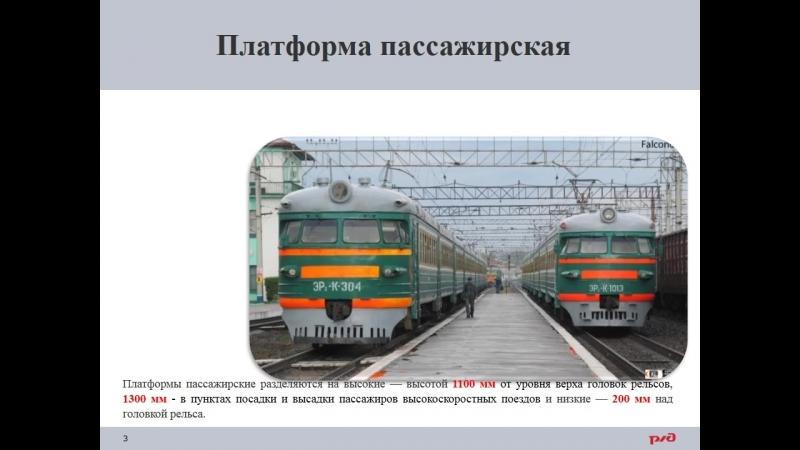 13. Пассажирские платформы.