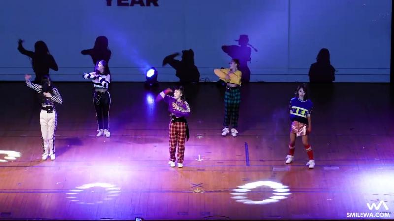 171210 걸카인드 (Girlkind) 갓세븐 - 세븐틴 - 워너원 - 방탄소년단 COVER 4K 직캠 @엔와이댄스 POTY 축하공연 4K