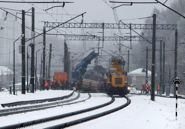 Поезда в брестском направлении следовали с опозданиями из-за аварии под Минском