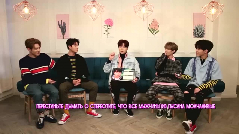 [Pops in Seoul] DAY6 Park Sung-jin _ Self-Introduction(rus.sub)_arc