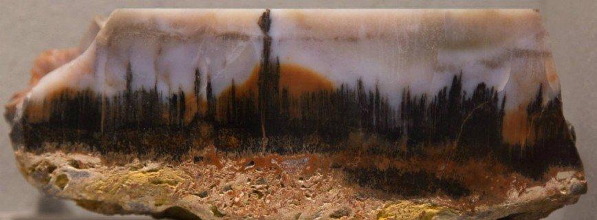 Картины в камне пейзажный халцедон агат яшма