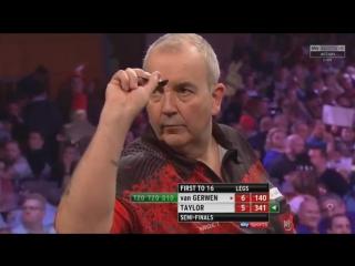 Michael van Gerwen vs Phil Taylor (Grand Slam of Darts 2017 / Semi Final)
