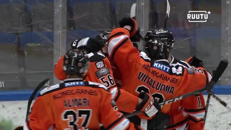 HPK - Jukurit 3:2 (Обзор матча) Финский Хоккей╞╬═╡Suomen Jääkiekko