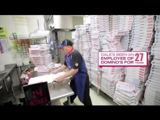 картонные коробки для пиццы Domino Pizza