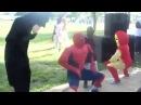 SpiderMan, BatMan, IronMan, Shake, Shake, azazaza