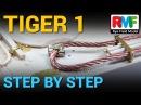 [4] TIGER I - Rye Field Model - Step by Step - Photo Etch - Fotograbado