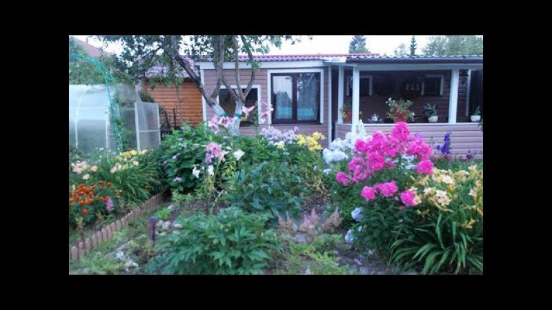 Мой прекрасный сад. Сказка на 4 сотках с минибассейном , устроенным в цветнике