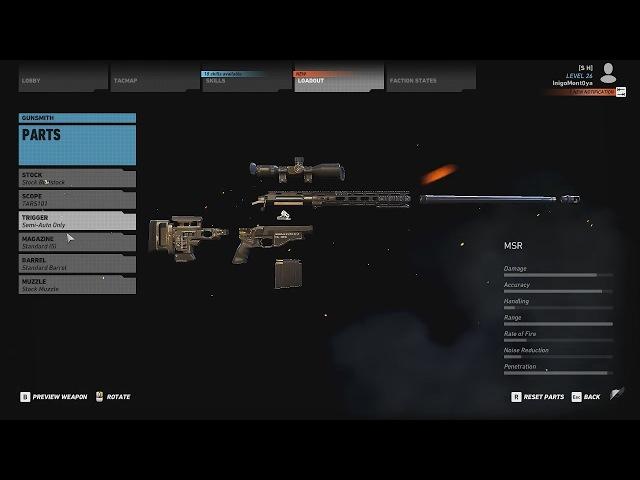 Ghost Recon Wildlands - MSR Loadout - Best Mods / Attachments - Gun Guide