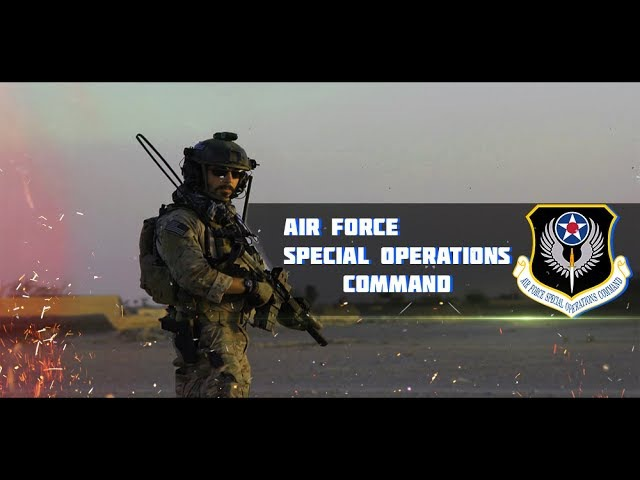 Air Force Special Operations Command • AF SOC • USAF Special Ops