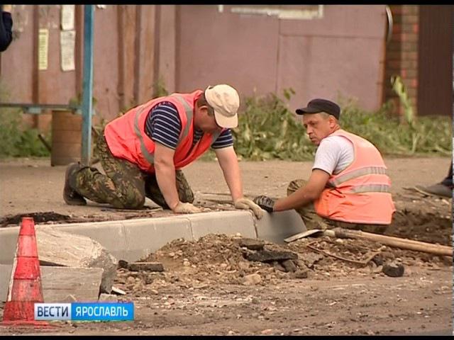На улице Шевелюха в Ярославле проверили ремонт дороги
