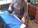 Сам Себе Шью. Как загофрировать юбку.Часть 2 Гофре. Шьём полусолнце .