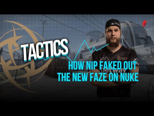 How NiP faked out the new FaZe on Nuke (Dreamhack Malmö)