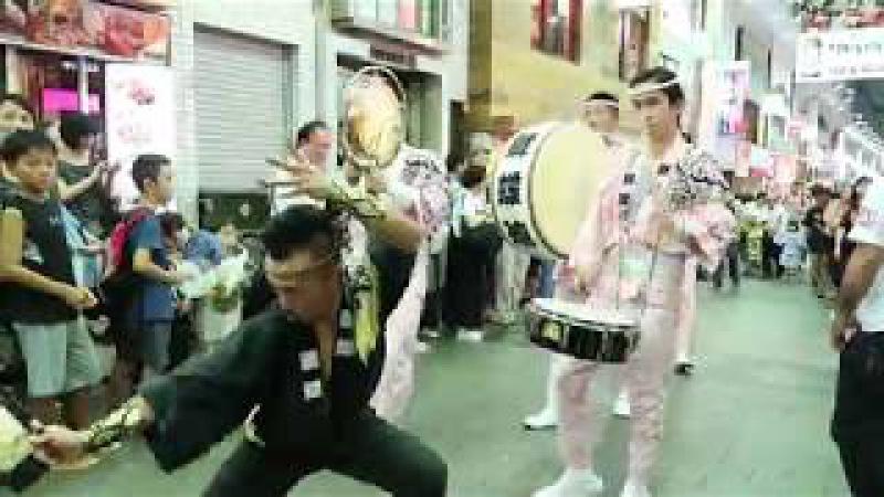 高円寺阿波おどり・ふれおどり2017⑥舞蝶連