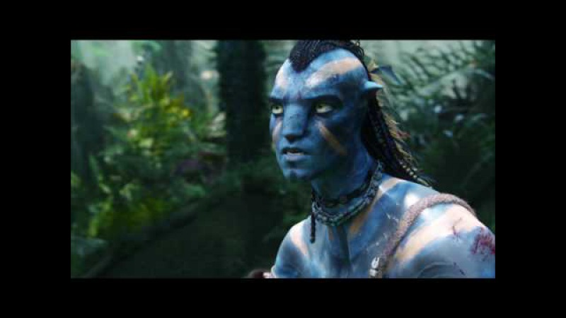 Джейк Салли дерётся с Полковником Майлз Куоритч (Jake Sully vs Miles Quaritch) Avatar