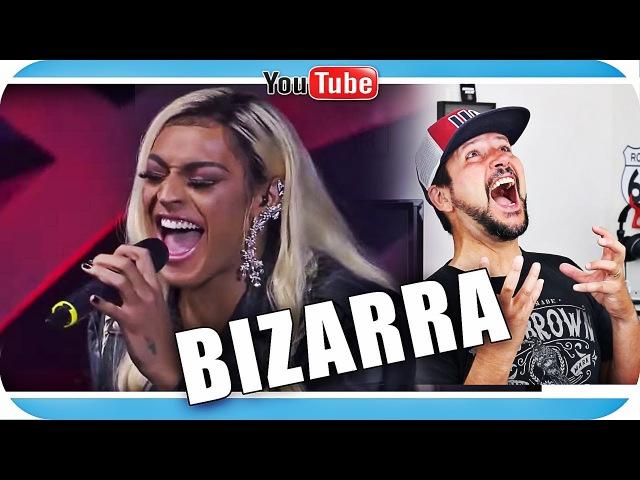 Reagindo a PABLLO VITTAR - DESAFINAÇÃO BIZARRA react