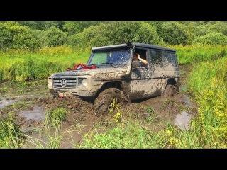Топкое болото. Toyota Land Cruiser 80 41