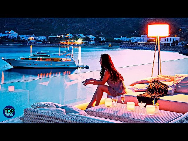 SANTORINI SMOOTH JAZZ CHILLOUT LOUNGE SPA MUSIC RELAXING MUSIC ROMANTIC MUSIC MEDITATION MUSIC