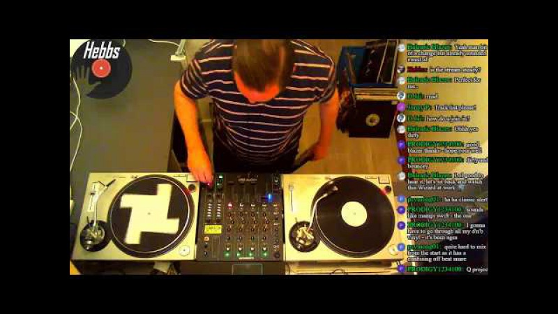 Drum and Bass Vinyl Mix Up