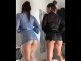 Две красотки крутят попками (порно, секс, эротика, попка, booty, anal, анал, сиськи, boobs, brazzers)