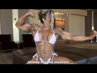 Female Bodybuilders! Girl Muscles! IFBB Pro!(Диагноз-спорт)