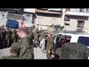 Российский военный взорвал танцы из Алеппо