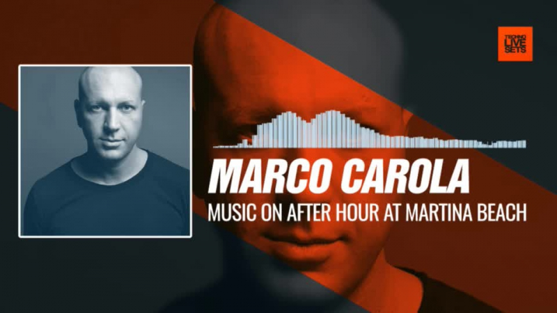 Marco Carola live at The BPM Festival (Playa del Carmen, Mexico) 09-01-2017 Music Periscope Techno