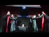 Косплей на Леви и Мику. Хэллоуин пати от ОРДЫ 2017.