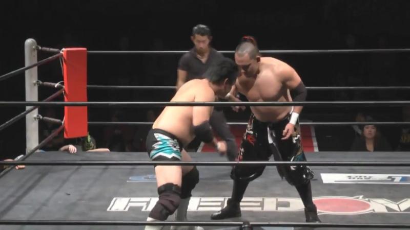 KAZMA SAKAMOTO vs Toru Sugiura FREEDOMS Shin kiba 1st RING