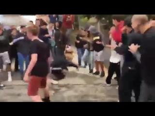 Разьебал с вертухи!