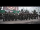 Ярослав Сумишевский с Олегом Газмановым и военнослужащими России на флешмобе