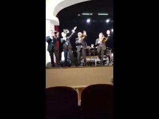 Просто потрясающий концерт настоящего американского джаза....Легендарный оркестр Гленна Миллера!!!! Получили огромное удовольств
