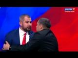 Во время дебатов Сурайкин попытался напасть на Шевченко