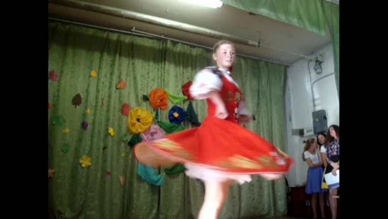Русский танец. исп. Бедная Анастасия (12гр.)