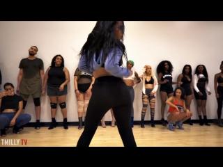 Nicki Minaj - Itty Bitty Piggy - Choreography by Aliya Janell _ #TMillyTV