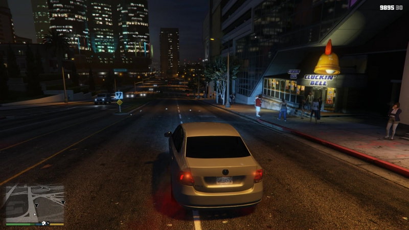 GTA5 VOLKSWAGEN POLO