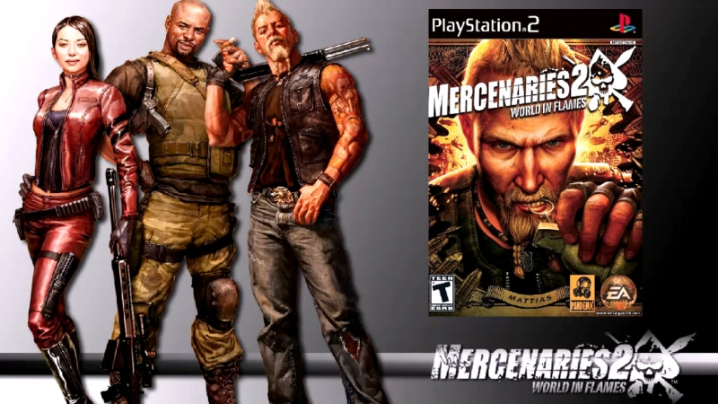 Mercenaries 2: World in Flames..РУС [ PCSX2 1.5.0 OGL - HARD ].Fps.50/16:9/HD.720.p